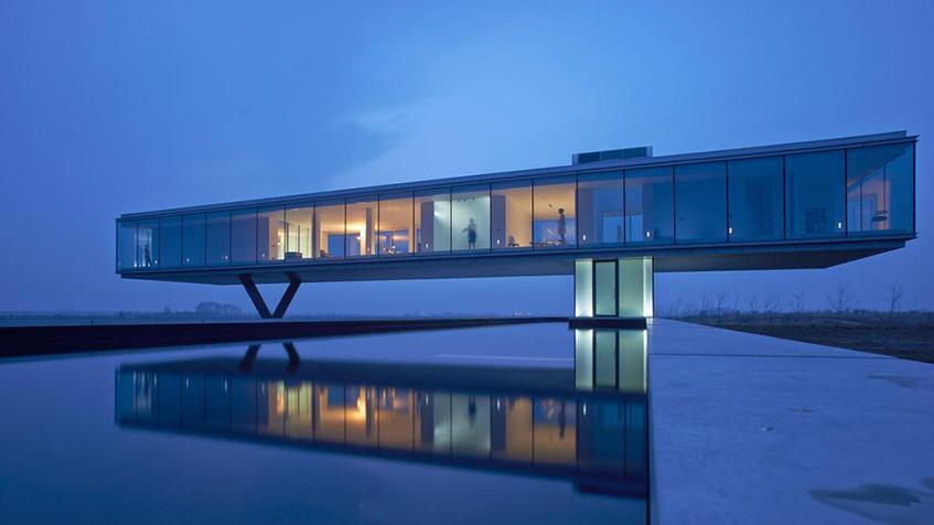"alt=""Ponti e architettura - Villa Kogelhof - Olanda"""