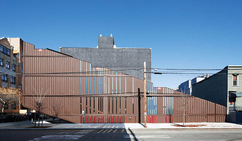 "alt=""Shipping container house - Williamsburg Brooklyn - New York - Architettura - Carroll house"""