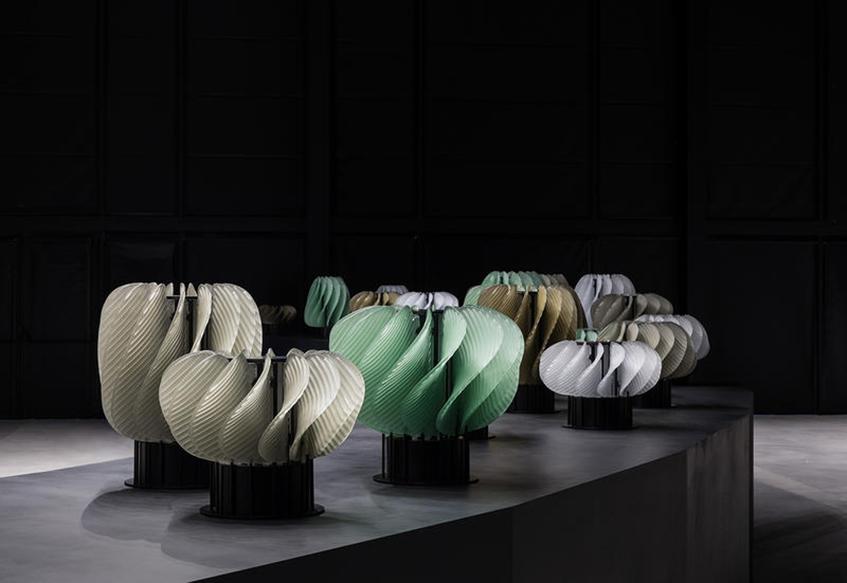 """alt=""""materiali-e-design-fuorisalone-2018-irrinunciabili-installazione-spazio-krizia-raw-edges"""""""