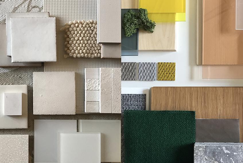 """alt=""""Bertero Projects - 5 domande a - Moodboard - Materialboard - Mc Donalds - Morocco - Casablanca"""""""