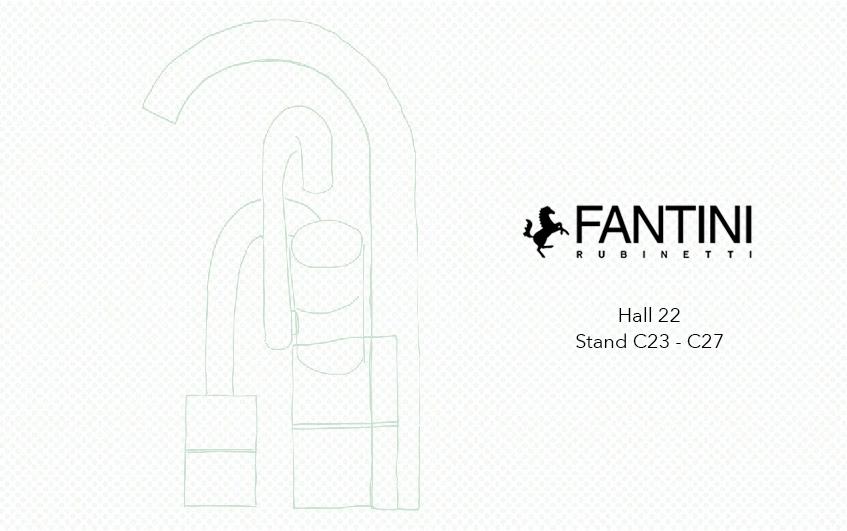 """alt=""""Salone del mobile 2018 - Fantini rubinetti"""""""