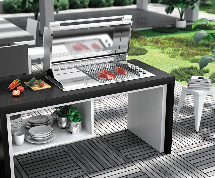 "alt=""Barbecue di design - Outdoor - Fulgor - SBQ cucina"""