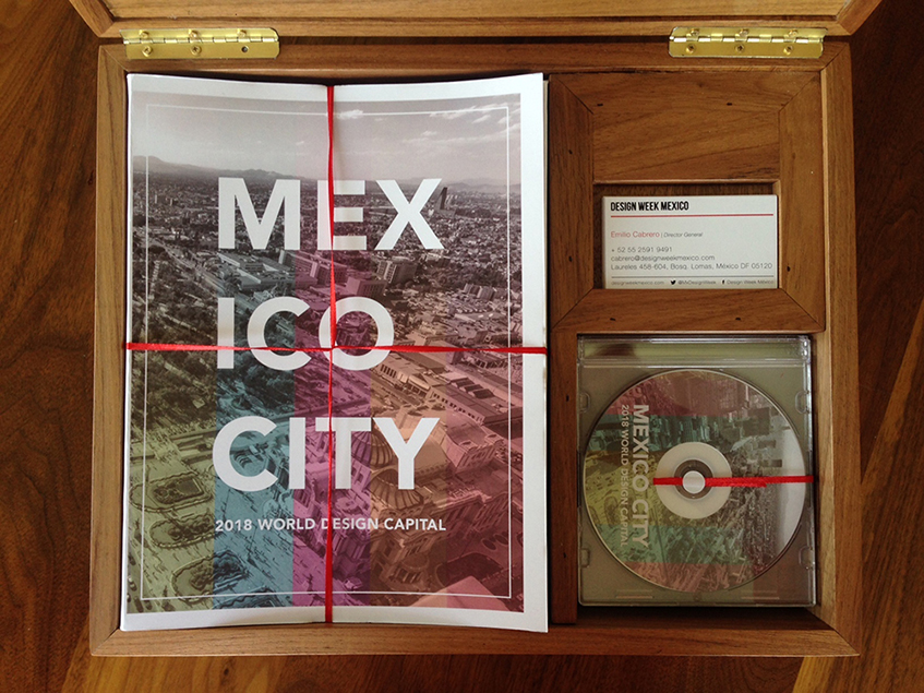 """alt=""""Mexico City - World design capital 2018 - Copertina"""""""