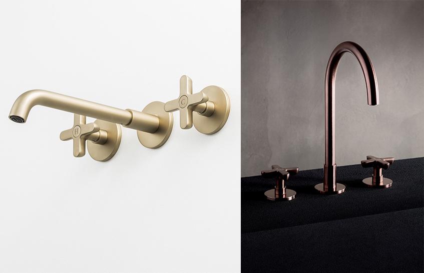 """alt=""""Colori autunno - Interior - Fantini rubinetti - Icona classic - British gold"""""""