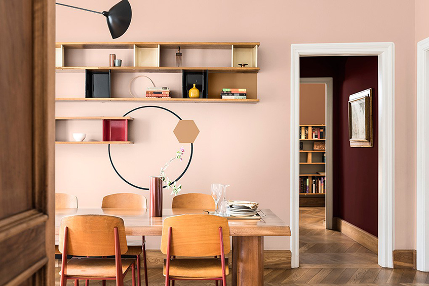 """alt=""""Colori autunno - Sikkens - Color trend 2019 - Spiced honey"""""""