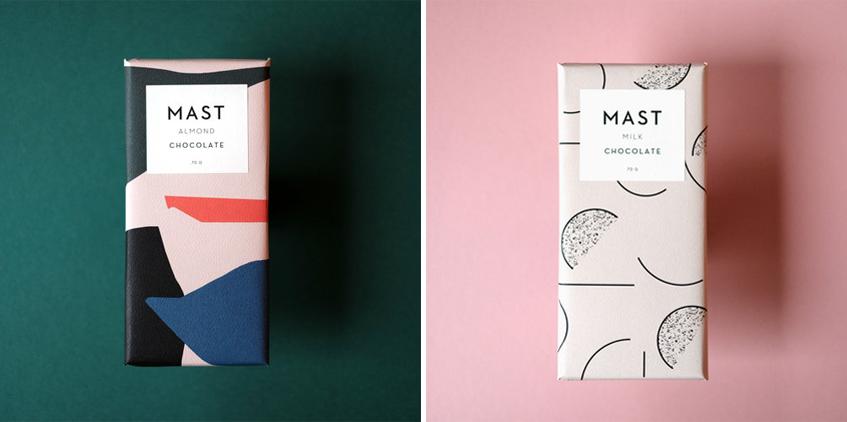 "alt=""Le forme del cibo - cioccolato Fratelli Mast - Brooklyn - Packaging"""