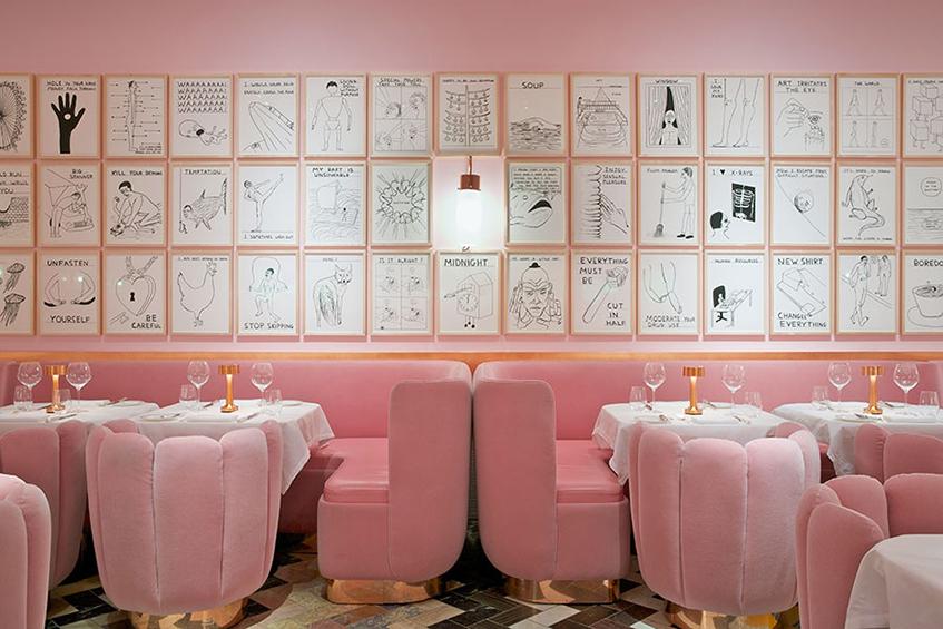 """alt=""""Le forme del cibo - Pasticceria Sketch Londra - India Madhavi"""""""