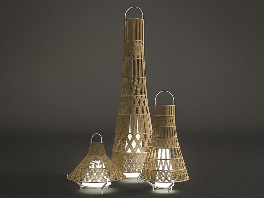 """alt=""""Cinque idee outdoor design - Ludovica+Roberto Palomba - Talenti - Lampada Tribes"""""""