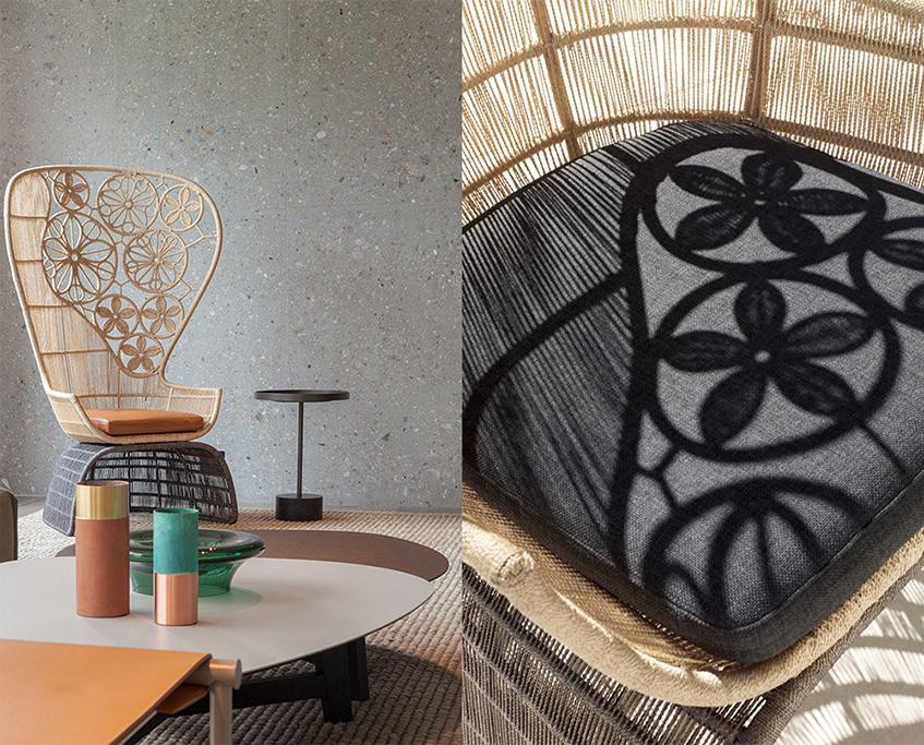 """alt=""""Cinque idee - Outdoor design - Patricia Urquiola - B&B Italia Outdoor - Crinoline"""""""
