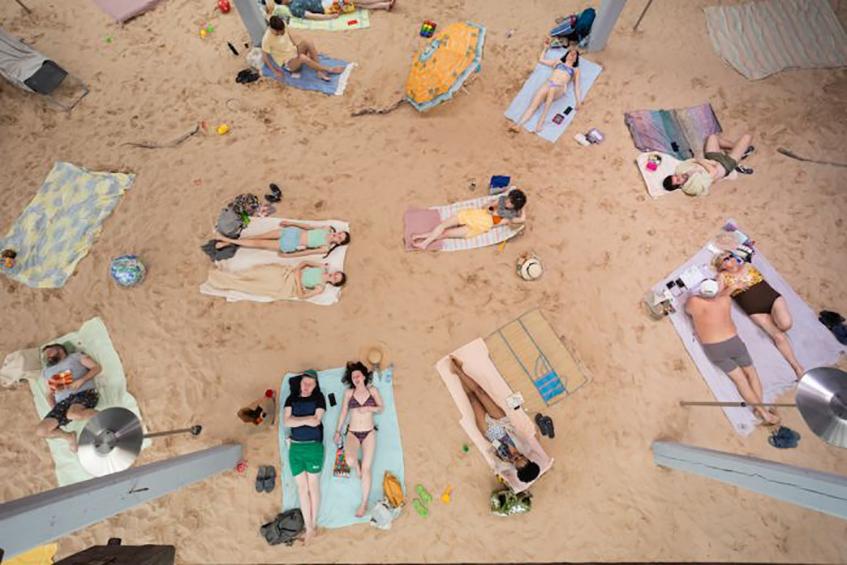 """alt=""""Mostre d'arte e architettura per l'estate - Biennale d'arte Venezia - Sun sea - Padiglione Llituania"""""""