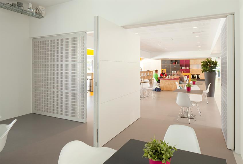 "alt=""Soluzioni per spazi flessibili - Fritsjurgens - Tennis & Business center - Doorn - Olanda"""