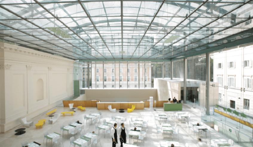"""alt=""""Learn at lunch - Pranzo culturale - Museo- Roma - Palazzo delle esposizioni"""""""
