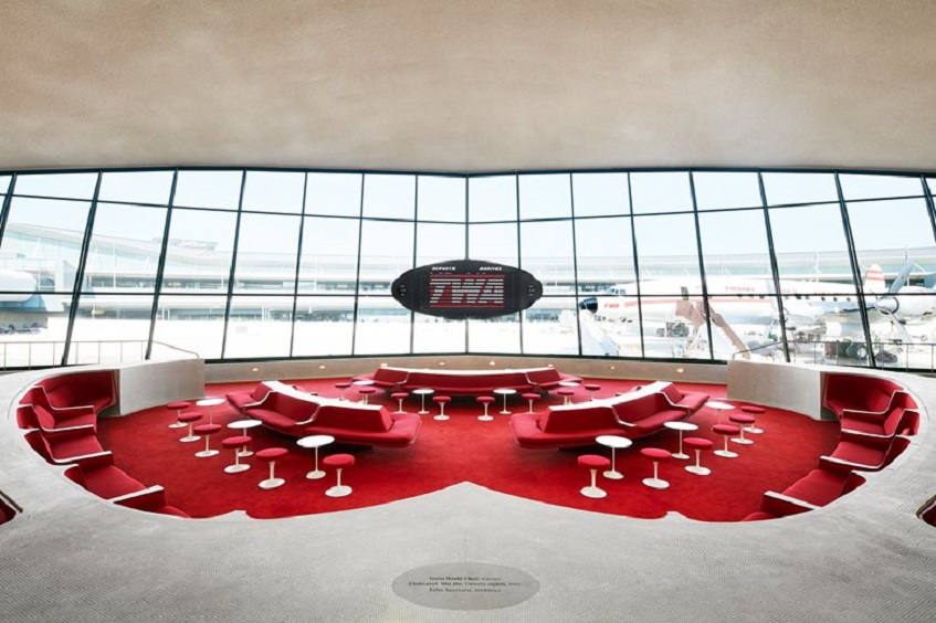 "alt=""Design in aeroporto - TWA terminal - Eero Saarinen - New York"""