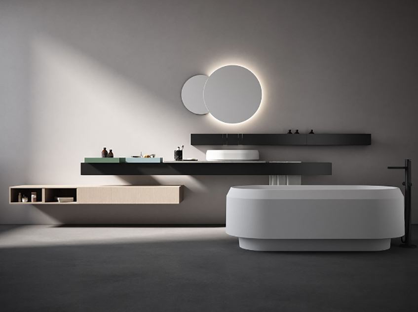 """alt=""""Le fiere di design che inaugurano il 2020 - Agape - IMM Cologne 2020 - Rigo di Patricia Urquiola"""""""