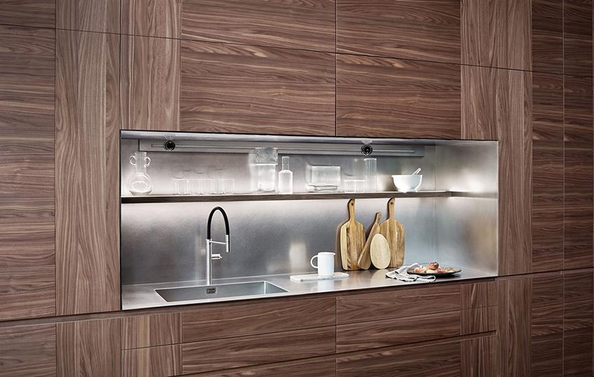 "alt=""Tre stili diversi in cucina - Cesar cucine - Modello Intarsio"""