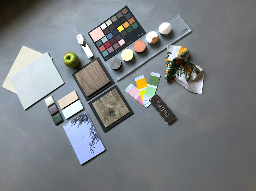 "alt=""Architettura olistica - Material board 05 - Estate 2020"""