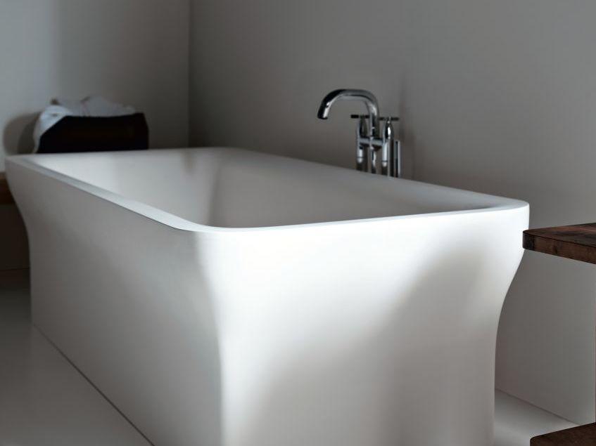 "alt:""materialiedesign bianco interior design agape vasca novecento dettaglio"""