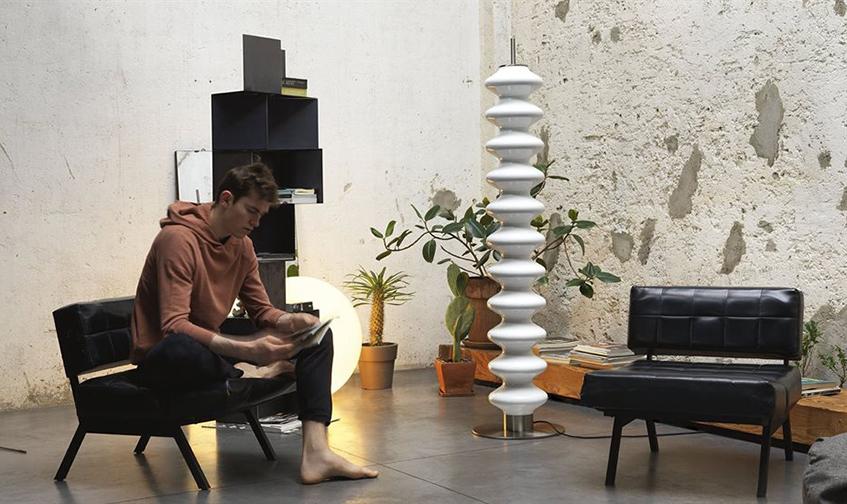 "alt=""Selezionati da Materialiedesign -Radiatore Milano di Tubes - Finitura RAL bianco - Lifestyle"""