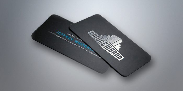 Foil Printing Custom Business Cards