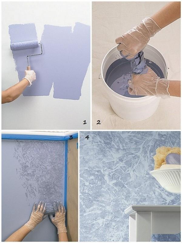 приемы окрашивания стен и потолков фото надо забывать большую