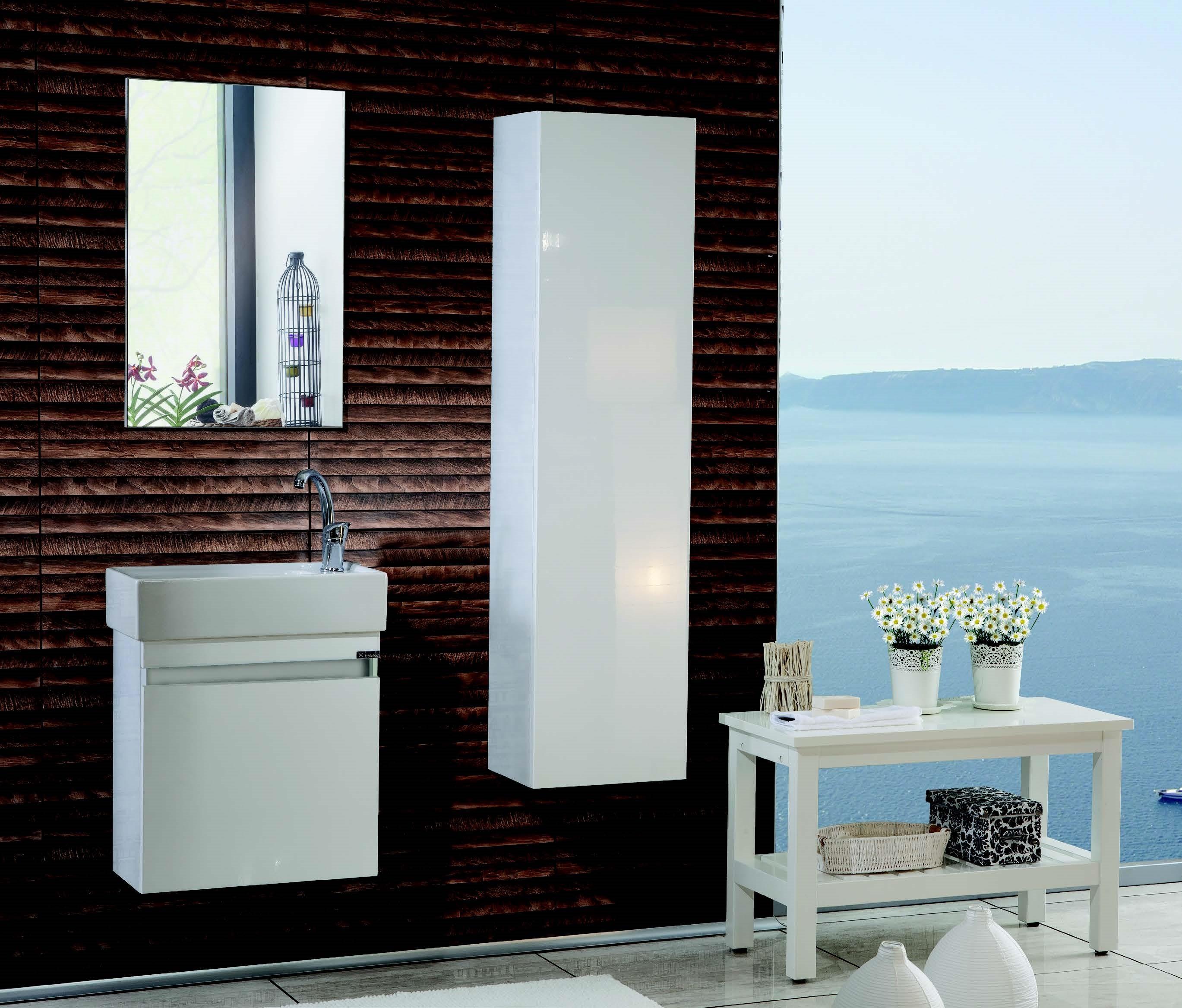 ensemble meuble de salle de bain blanc