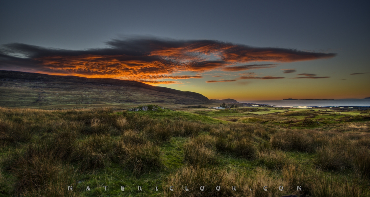 MatericLook: ArdnamurchanSunset0 by Francesco Perratone