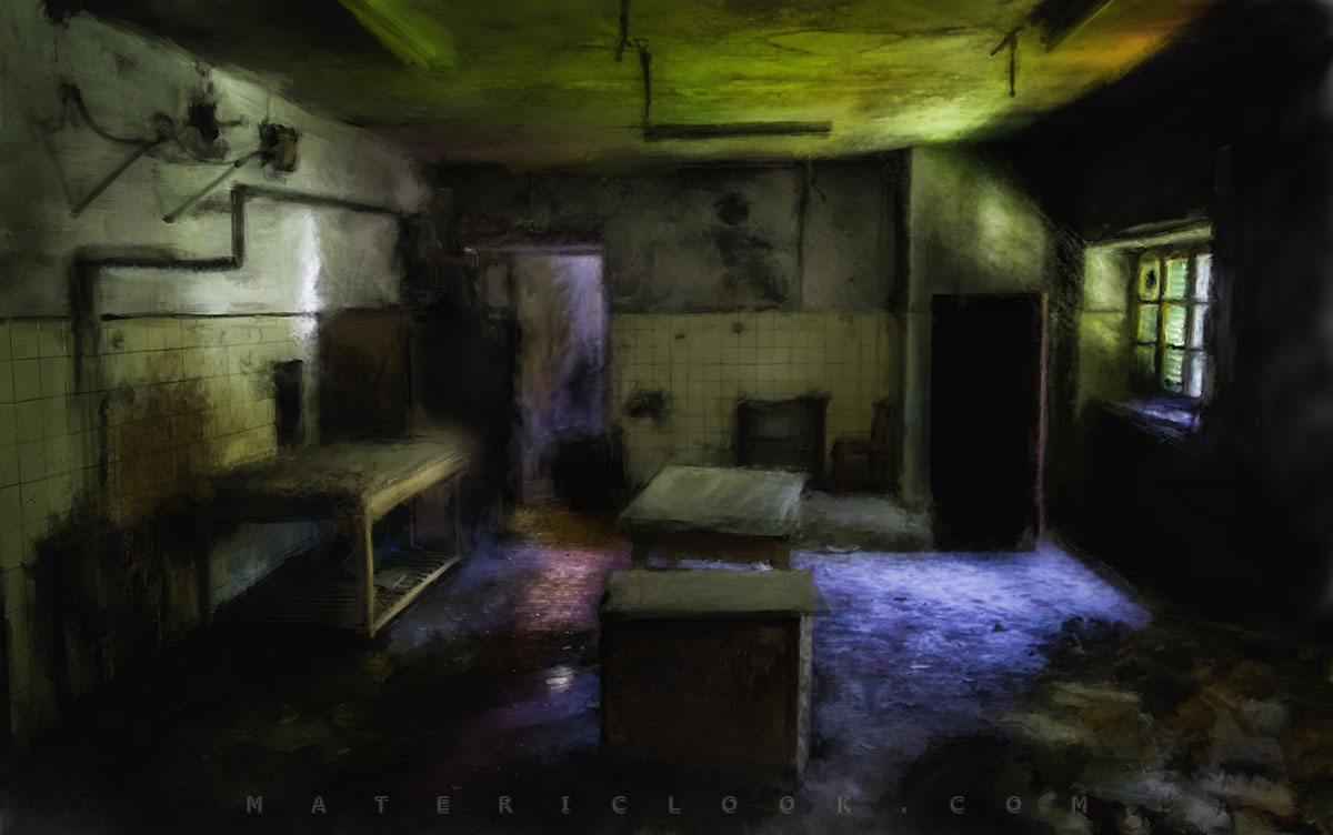 Matericlook TheKitchen Urbex Art Photography Digital Painting
