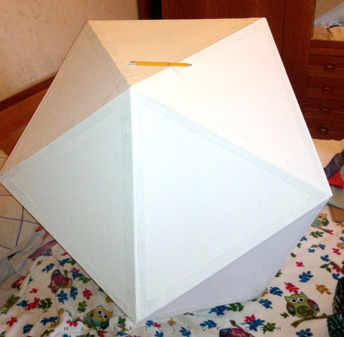 MatericLook: DoPe Projection Icosahedron #0