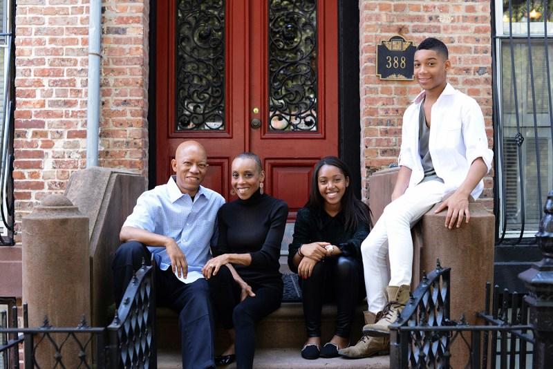 Andrea Davis Pinkney family