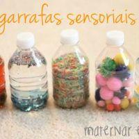 Garrafas sensoriais para bebês: uma atividade Montessori