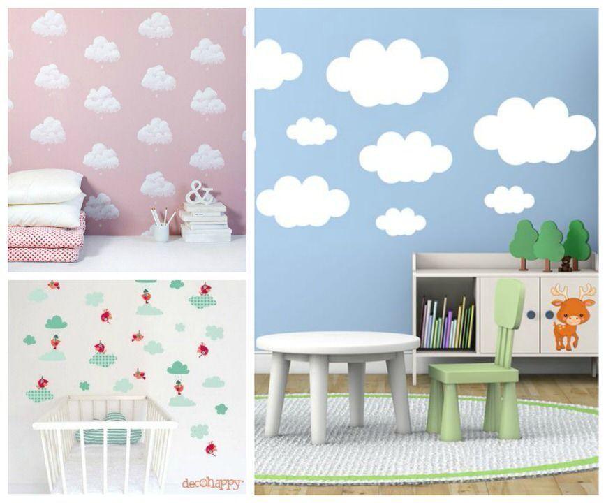 Nubes y cuartos infantiles   Maternidad como puedas