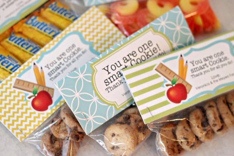 ideas regalo profesoras galletas
