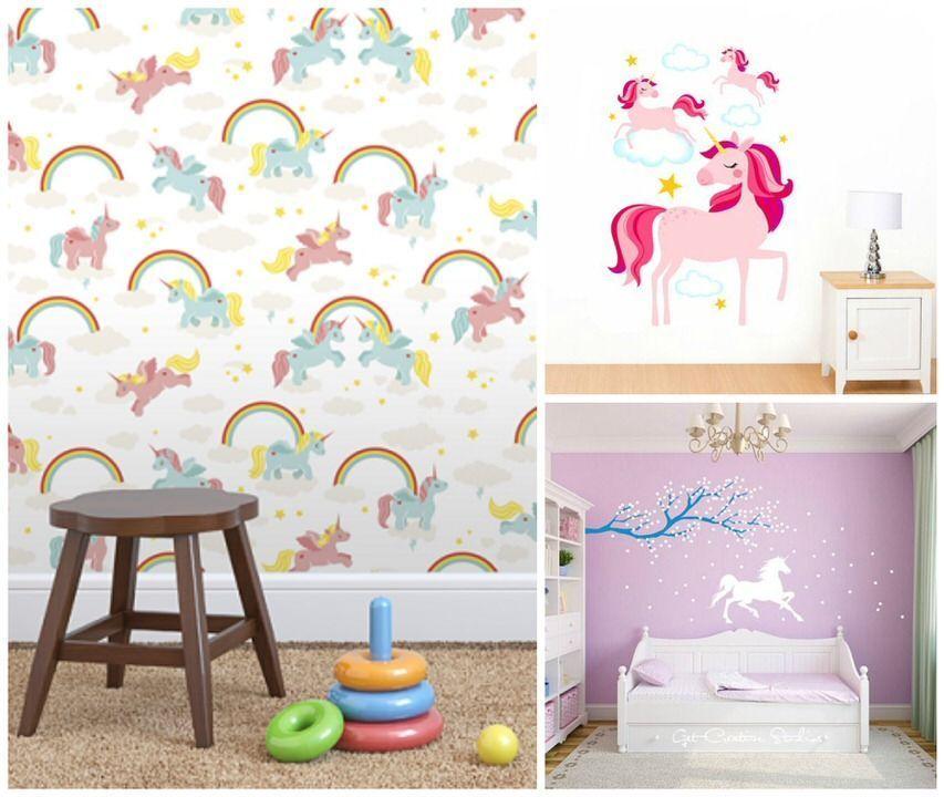 Unicornios y cuartos infantiles | Maternidad como puedas