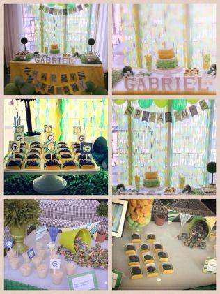Festa infantil, festa Brasil, tema Brasil, tema verde e amarelo