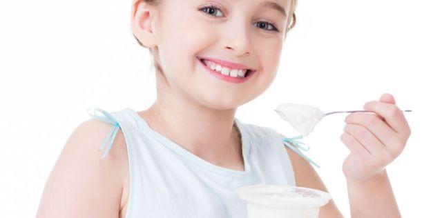 yogur para ninos