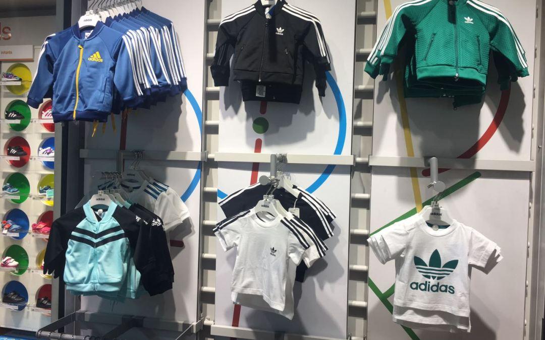 Fui de Visita a Adidas Kids Parque Arauco