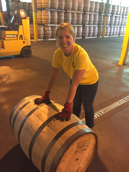 Ginni visits A. Smith Bowman Distillery