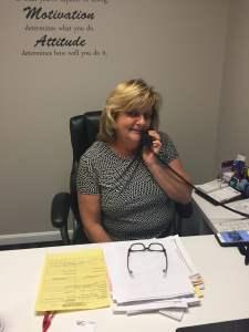 Behind the Desk: Teresa West