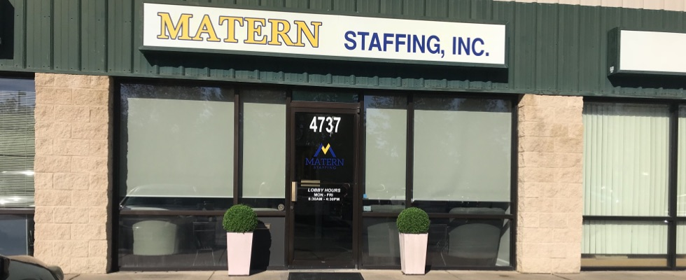 Matern Staffing office front