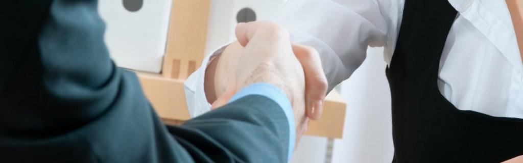 Employers Shaking Hands