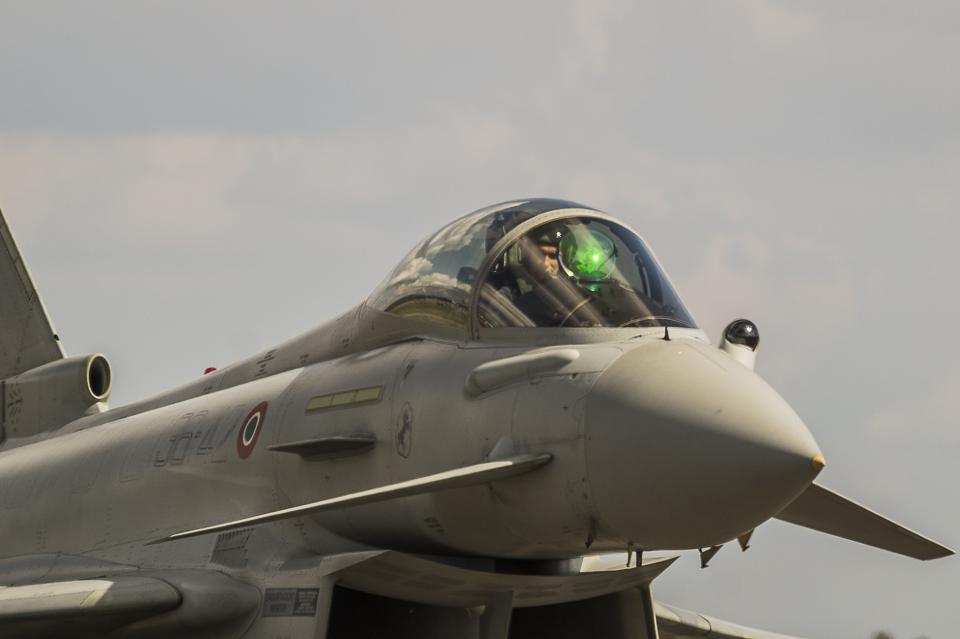 Radom Airshow Eurofighter 2013