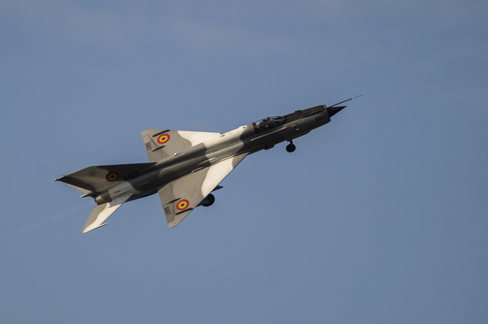 Radom Airshow MiG-21 2013