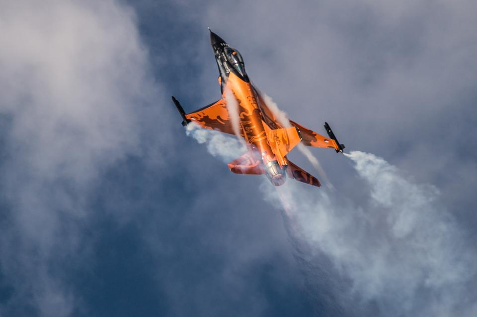 Radom Airshow F-16 Demo Team 2013