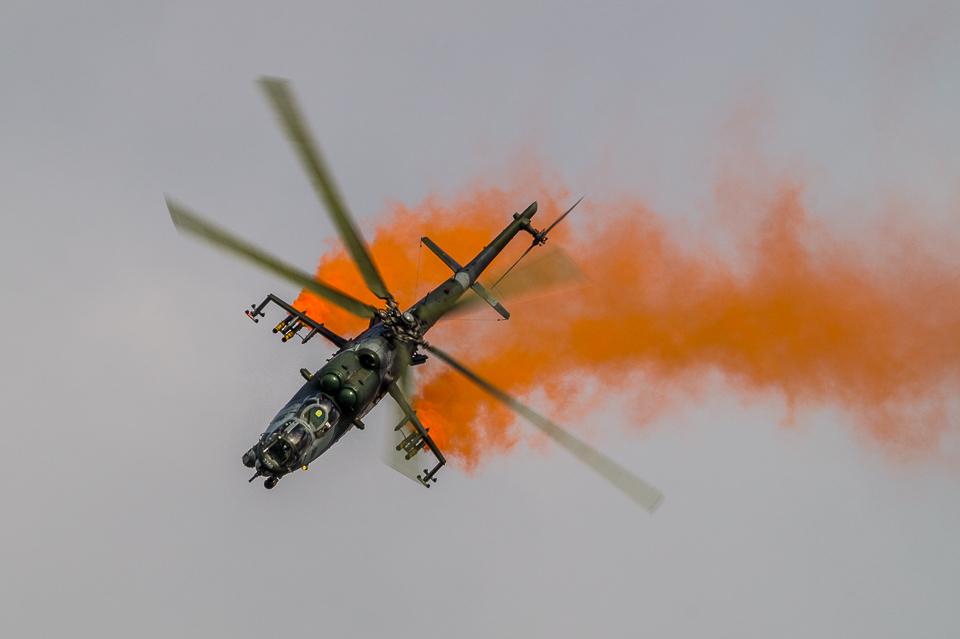 Mi-24 NATO Days 2013 zdjęcia
