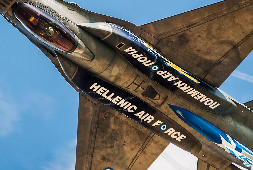 """Greek F16 """"Zeus"""" NATO Days 2014"""
