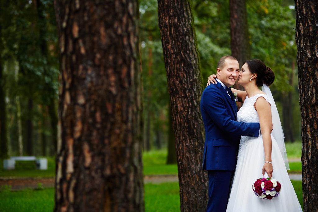 Plener w dniu swojego ślubu