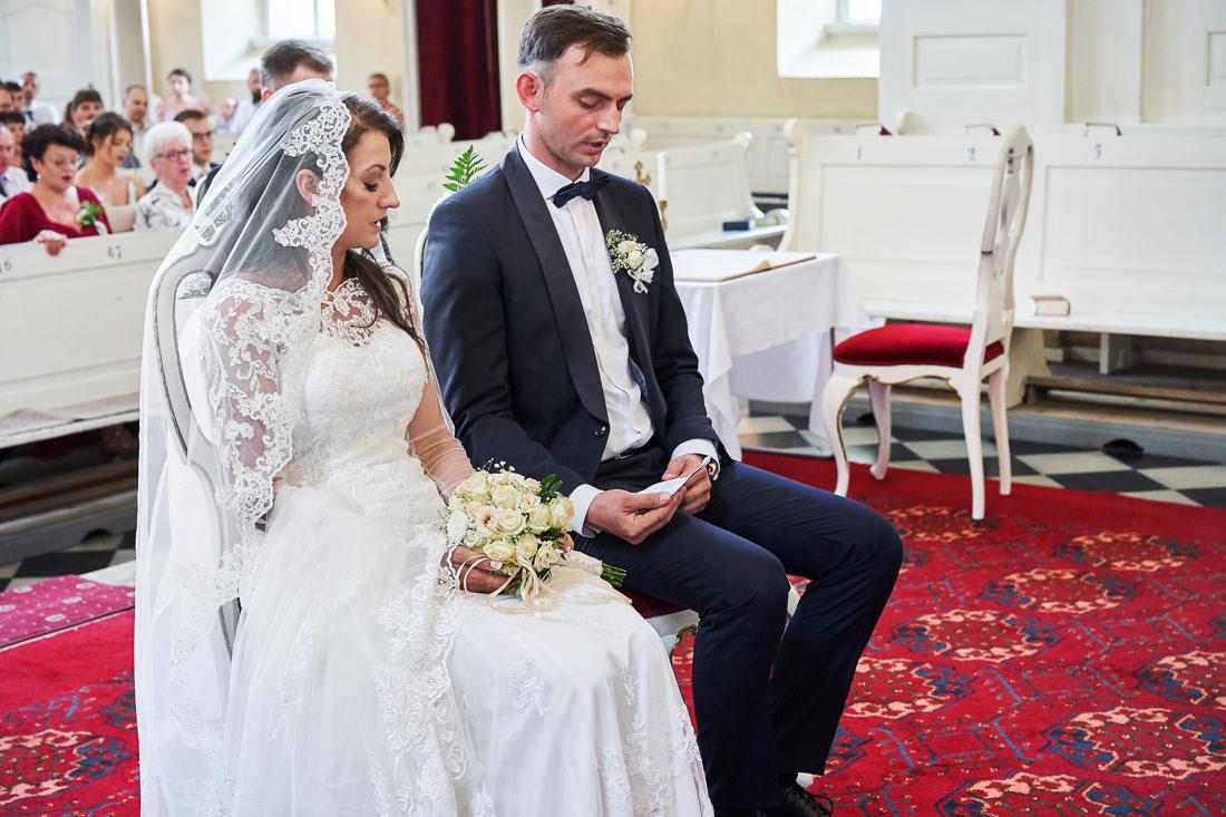 młoda para, wesele