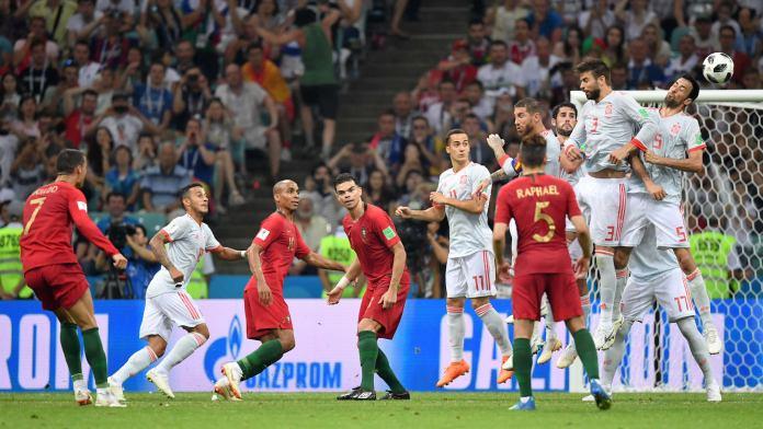 اسبانيا ضد البرتغال