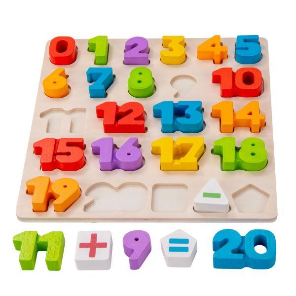 puzzle en bois a encastrer apprentissage ludique