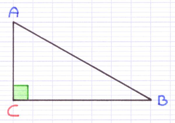 un triangle rectangle